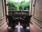 Bedroom 1 Veranda, Sawo Apartment 1, Murni's Houses , Ubud, Bali