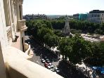 views over plaza españa