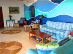 Large open concept livingroom