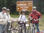 Ride the Hiawatha