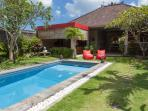 New refurbished 3 bedroom villa with AC