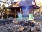 Enjoy the peace and quiet at our cabin