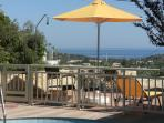 Helidonia Villas - STEFANOS: fenced pool, panoramic view