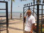 Gate to Malecon