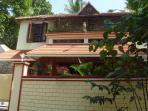 Exterior of Dinu Bhavan