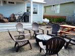Private fire pit and picnic table