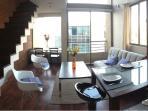 1st floor: Living & Kitchenette
