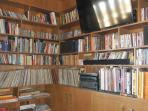 Hundreds of books, records, and DVDs for your enjoyment during your stay.