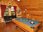 Watch TV and play pool