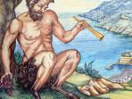 Il Giardino del fauno - Amalfi Coast Ceramic Painting