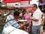 Bangkok Chinatown, 10 minute bu taxi or Tuk Tuk