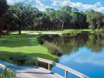 Golf in tropical paradise with spectacular scenery around every bend