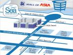 We are located walking distance to Mall of Asia