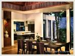 Dining & Kitchen (in Living Pavilion, fully equipped Italian designer kitchen)
