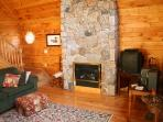 Fireplace- A mountain evening must!