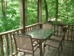 Upper Deck table and chairs