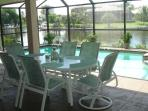 eat meals on the lanai! gas barbecue too!
