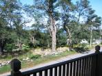 View from Master Bedroom deck.