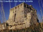 JUST AROUND THE CORNER: XVI century sighting tower along the coast