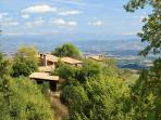 La casetta nel bosco and the panorama