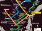 Closest metro station is Beaudry