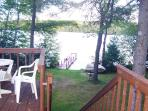 Deck to lake