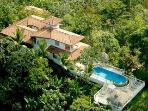 Aerial View of Villa and Pool