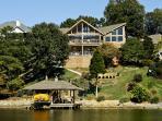 $2Million Estate Right on Tellico Lake Boat dock