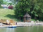 View of the dock and Gazebo