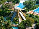 Waterslide and Pool at the Grand Mayan, Nuevo Vallarta