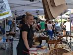 Local street market here at Værnedamsvej.