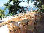 Los Chonchos Restaurant overlooking beach