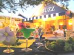 Buzz, our favourite restaurant in Rodney Bay. 10 minutes drive from the villa