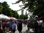 Saturday's Farmers Market @ Trout Lake