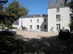 In the Loire Valley, a Magnificently Restored and furnished Manor House in Chate