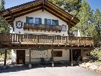 Charming alpine chalet with a private deck, blocks from trails and Lake Tahoe!