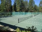 Private Tennis Court Access