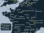 Map of St. Pancras Euro Star