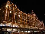 The famous Harrods store