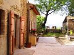 Incantevole cottage in pietra con piscina & splendida vista