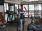 Fitness Room On-Site (in the same building... just down 1 flight of stairs)