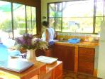 The Cabin`s kitchenet