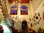 Front entrance hall & staircase