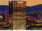 TRUMP LAS VEGAS WITH GOLD GLASS!!