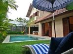 Villa and Pool Overview