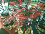 A Birthday Table in Lower Restaurant