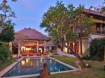 Villa Exterior and Swimming Pool