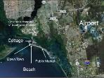Fort Myers Airport Map about 20 min drive