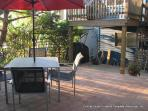Enjoy a meal on the patio - barbecue included