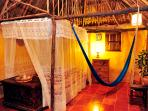 Casitas Kinsol Room #8 - The mezzanine with a full-size mattress can accommodate 2 extra persons